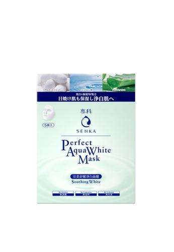 SENKA SENKA Perfect Aqua White Mask Soothing White (5P) 38524BE6B60460GS_1