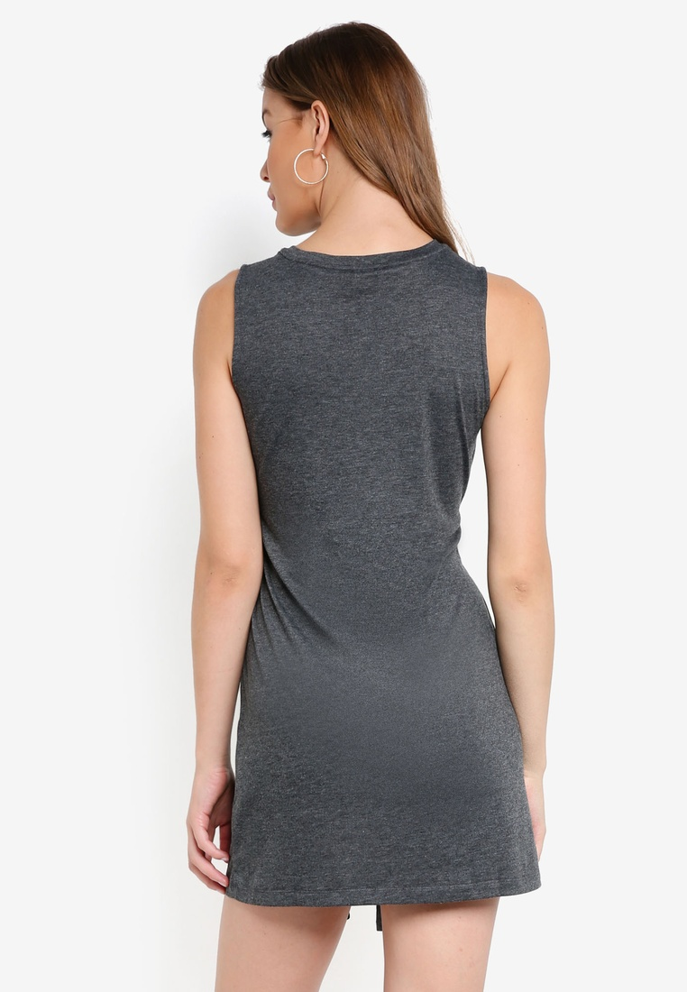 Tie ZALORA Marl BASICS Basic Waist Dress Grey Navy pack Mini 2 YCnAf