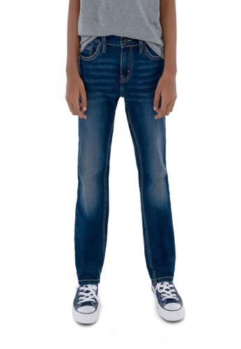 Levi's Kids blue LEVIS Big Boy 511 Slim Fit Jeans 1E0FCKAF530B89GS_1