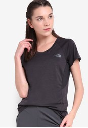 The North Face black Ambition Short Sleeve Top TH274AA17WLEMY_1