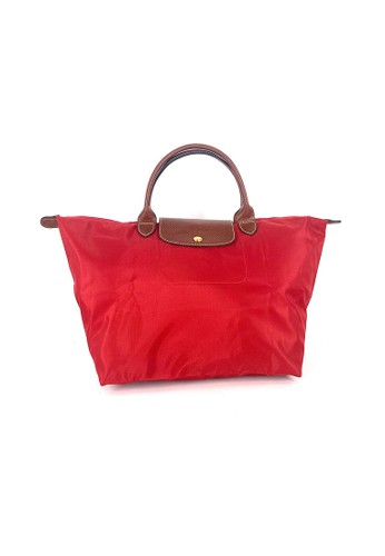 LONGCHAMP red Longchamp Le Pliage Neo MSH in Red 8A6B2AC1DBE857GS_1