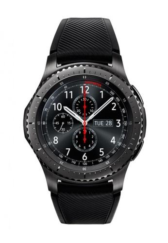 Samsung black Gear S3 frontier (Non-LTE) SA111AC48WETSG_1