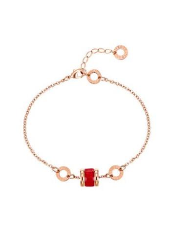 CELOVIS red and gold CELOVIS - Oceane Red Cryolite Bracelet EA3FCAC4AE2707GS_1