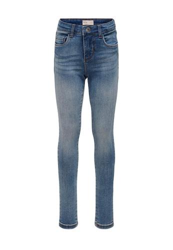 ONLY blue Rachel Mid Blue Denim Jeans 7699DKAB6D5ED1GS_1