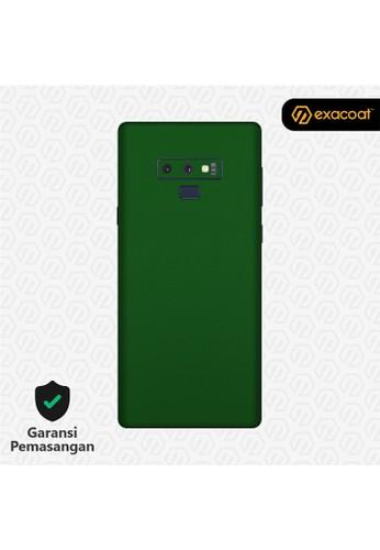 Exacoat Galaxy Note 9 Skins True Colors - Emerald Green 16E79ES07E7E05GS_1