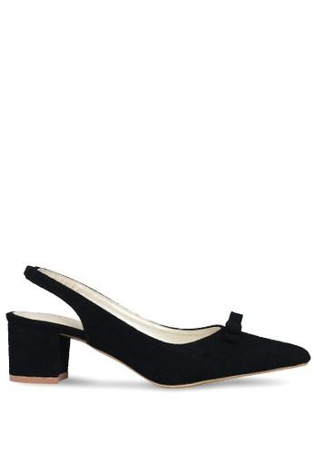 CLAYMORE black Claymore Mid Low Heels  MZ - 1729 - Black CL635SH0UPBKID_1