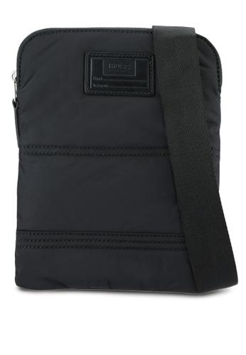 Boss Orange black Bomber Sling Bag BO434AC0RPQAMY_1