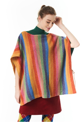 United Colors of Benetton multi Striped Knitted Sweater 6CFD8AA543858DGS_1