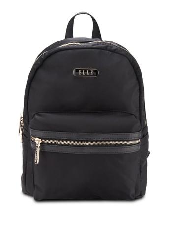 ELLE black Beyonce Backpack EL900AC38UWJMY_1