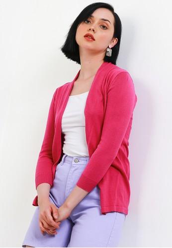 Peponi pink Basic Cardigan 2AFD6AA1936D12GS_1
