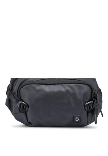 CRUMPLER black Zero Border Hip Pack Bag E50F1AC8B702E9GS_1