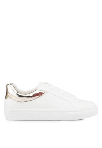 Carlton London 金色 Plimsoll 運動鞋 E03ECSH44EC8FDGS_1