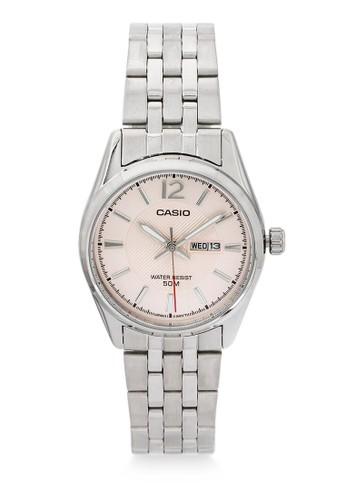 Casio silver Casio Jam Tangan Wanita - Silver Pink - Stainless Steel - LTP-1335D-5AVDF F9F96AC884BE59GS_1