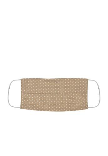 MAYONETTE multi MAYONETTE Masker Kain Premium Cotton 2 Ply + Kawat Hidung Nose Wire Bisa Diisi FIlter - 12 Pcs - Polkadot Nude 5193CES4DBC6DBGS_1