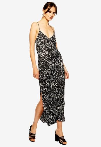 8372075f7a9e Buy TOPSHOP Monochrome Daisy Slip Dress Online | ZALORA Malaysia