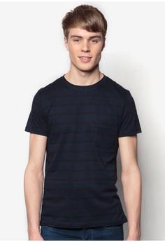 Textured Striped T-Shirt