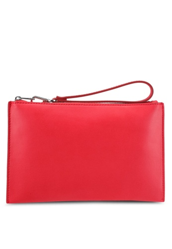Esprit red Casual Clutch Bag ES374AC0T182MY_1