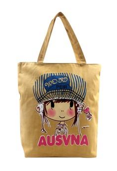Ausvna B Tote Bag