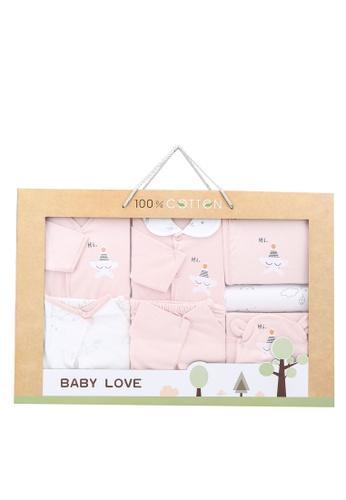 Milliot & Co. pink Alexander Girls Gift Set D18FFKCA975C93GS_1