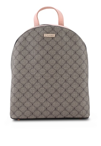 PLAYBOY BUNNY pink Monogram Backpack 7BF9CACCB353FEGS_1
