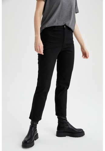 DeFacto black Woman Woven Trouser 17E50AAC9898D0GS_1