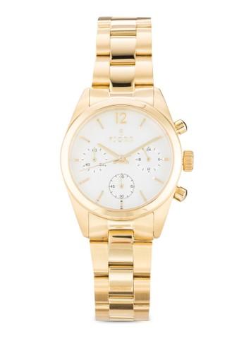 Ingegerda 副錶盤不銹鋼圓錶, 錶類, 飾品配esprit 錶件