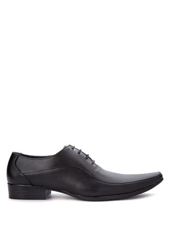 Brogue & Derby black Daxton Formal Shoes BR611SH83CQEPH_1