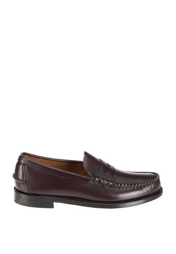 Sebago brown Mens Classic Dress Casual Shoes SE328SH82NRHPH_1