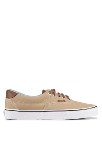 VANS brown Era 59 C&L Sneakers VA142SH0SWRCMY_1