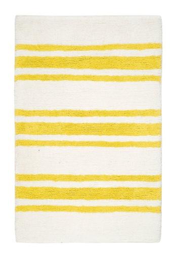Living DNA Stripe Yellow Bath Carpet F01D2HL89847D2GS_1