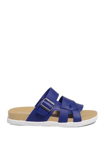 Dr. Kevin blue Dr. Kevin Mens Casual Sandals 17216 - Blue DR982SH0US9QID_1