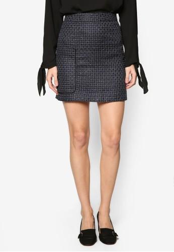 Lupitesprit鞋子a 斜紋拼布口袋短裙, 服飾, 裙子