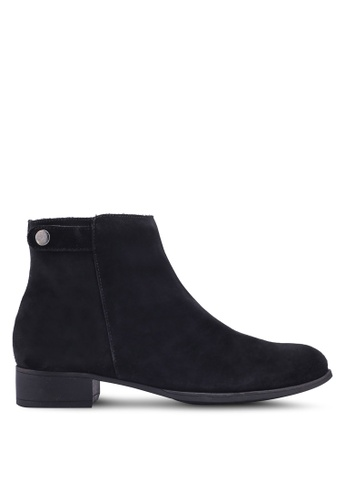 Anacapri 黑色 麂皮踝靴 DDF35SH854EC1CGS_1