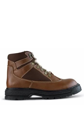 Sogno brown Safety Boot Pria GF.2107 A0CD4SH3219DBDGS_1