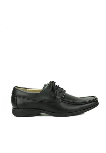 Mario D' boro Runway black CS 25771  Black School Shoes 1199BKS5058B93GS_1