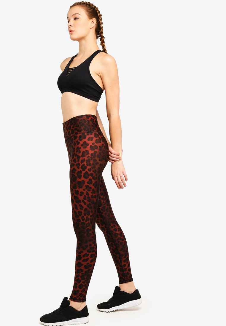 Lovely Leopard On School Tights Cotton To Maple Body Back xcYRPcq0z