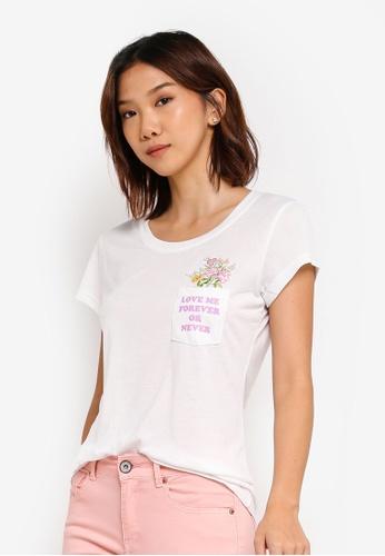 97df723d Buy Brave Soul Bouquet Embroidery T-Shirt Online | ZALORA Malaysia