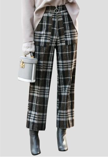 吊esprit 會員環高腰西褲, 服飾, 直腳褲
