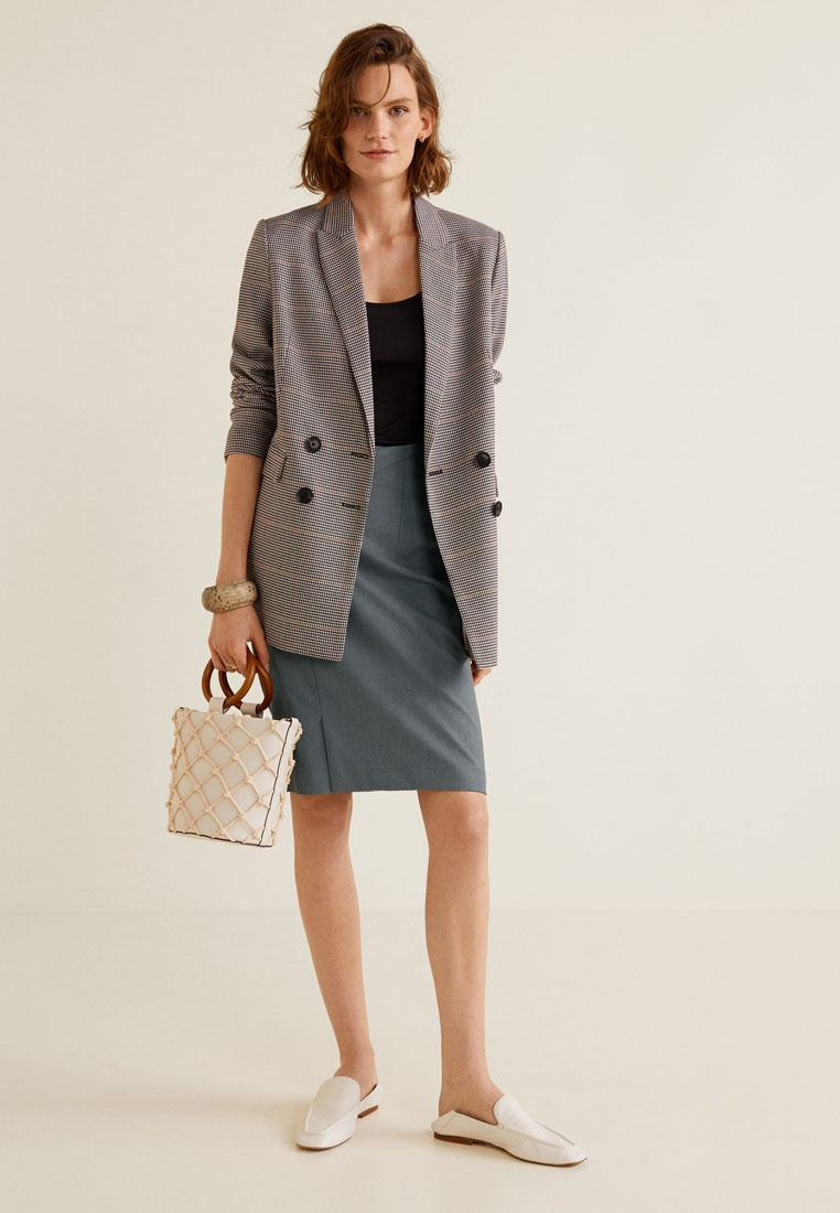 Mango Skirt Grey Skirt Grey Pencil Pencil Mango Skirt Pencil Pencil Grey Mango Mango rPHwq6r