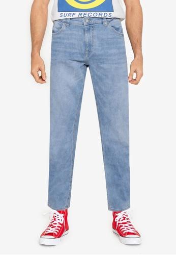 Springfield blue Medium-Light Wash Slim Fit Jeans 4299FAA847F8CEGS_1