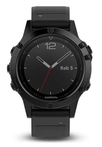 Garmin black Jam Tangan Pria Garmin Fenix 5 Sapphire E0C72AC77DCA17GS 1 740917f1a9