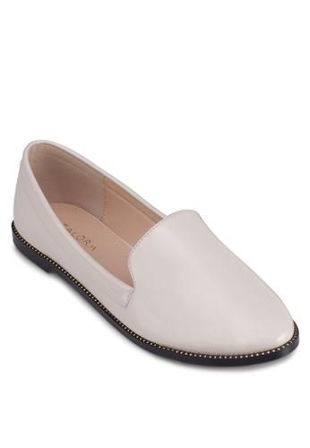 zalora taiwan 時尚購物網經典漆面樂福鞋, 女鞋, 船型鞋