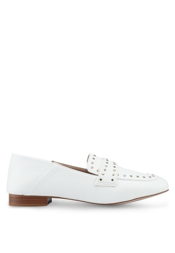 Miss KG white White Loafers 7196DSH853FCF2GS_1