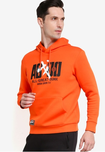 361° orange Basketball Series Hoody 00AC2AA21DCF7DGS_1