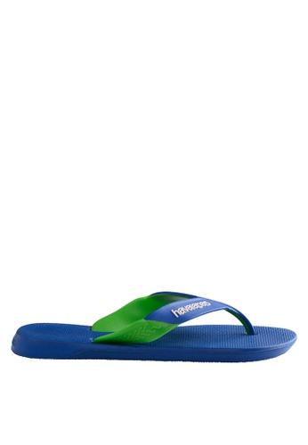 Havaianas blue Dynamic 17 Flip Flops AFE74SHCBE51C7GS_1