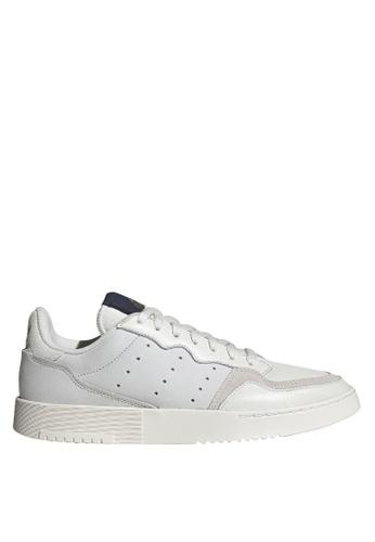 ADIDAS white adidas originals supercourt 4C83CSH8377EE6GS_1