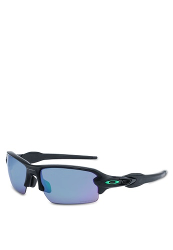 Oakley black Sports Performance OO9271 Sunglasses 53D80GLF5D5F46GS_1