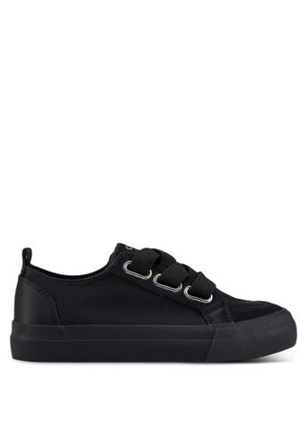 ONLY 黑色 雕紋運動鞋 1A5A9SH25A3109GS_1