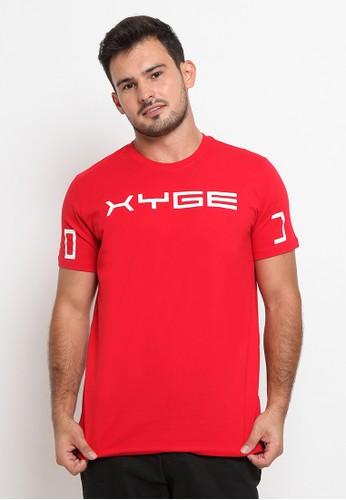 Oxygen Denim red T-shirt Oxygen beryl S 2323 Slim 7678AAA46AE70FGS_1