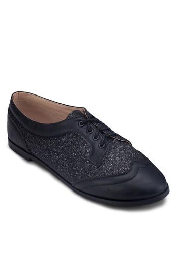 閃飾德比鞋, zalora 泳衣女鞋, 鞋